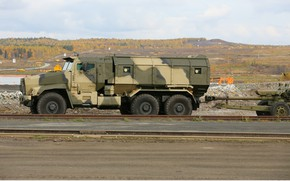 Картинка military, weapon, army, armored, military vehicle, howitzer