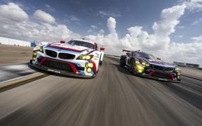 Картинка Concept, Авто, Машина, Скорость, Гонка, БМВ, Арт, Hommage, Два, Bavarian, BMW 3.0 CSL, Hommage R, …