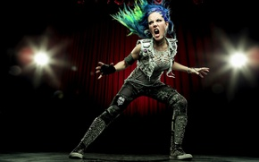 Обои pose, Alissa White-Gluz, Arch Enemy, singer