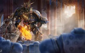 Обои Warhammer, Warhammer 40K, WH40K, guilliman, lord of ultramar