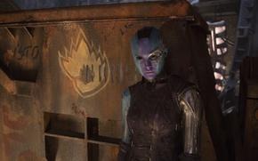 Картинка alien, Nebula, Karen Gillan, Guardians of the Galaxy, Guardians of the Galaxy Vol 2