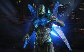 Картинка game, Blue Beetle, Injustice 2, Jaime Reyes