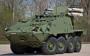 Картинка weapon, armored, Striker, armored vehicle, armed forces, Striker MSL