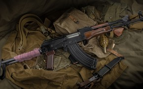 Обои weapon, АКМ, автомат, assault Rifle, оружие