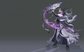 Картинка магия, веер, арт, маг, fantasy, игра., уровень, навык, скил, дизайн костюма, lvl