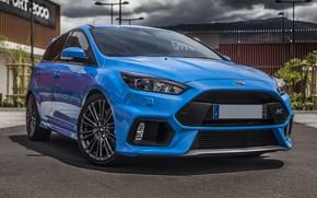 Картинка Ford, Focus, Blue, 2017