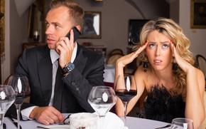 Картинка phone, dinner, cell phone, conversations