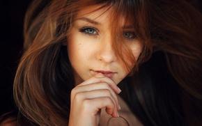 Картинка глаза, взгляд, девушка, портрет