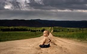 Картинка дорога, жизнь, мальчик