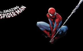 Картинка spider-man, комикс, человек паук, Marvel Comics