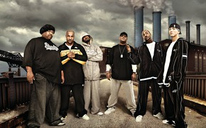 Картинка Swift, Eminem, Rap, Hip-Hop, Bizarre, Shady Records, Kon Artis, Dirty Dozen, d12, Kuniva, Proof