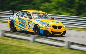 Картинка гонка, скорость, BMW M235iR