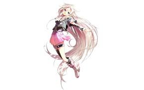 Картинка девушка, Вокалоид, длинные волосы