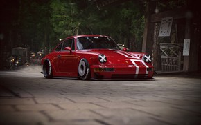 Картинка 911, Porsche, Tuning, Future, by Khyzyl Saleem