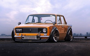 Обои 0106, LADA, Tuning, Future, JDM, VAZ, by Khyzyl Saleem