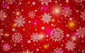 Обои snowflakes, снежинки, background, winter, зима, фон