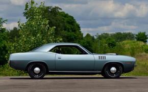 Картинка 1971, Classic, Muscle car, Plymouth Hemi Cuda