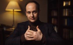 Обои актёр, руки, портрет, Никита Тарасов, взгляд, Nikolas Verano