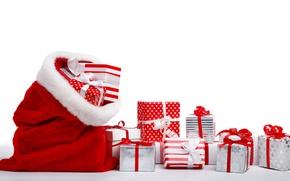 Картинка Новый Год, Рождество, merry christmas, decoration, gifts, xmas, holiday celebration