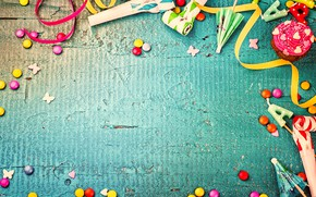 Картинка украшения, конфеты, сладости, Happy Birthday, decoration, День Рождения, holiday celebration