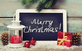 Картинка Новый Год, Рождество, snow, merry christmas, decoration, christmas tree, gifts