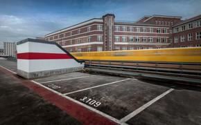 Картинка город, поезд, Berlin