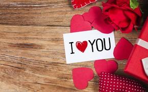 Обои День влюбленных, День святого Валентина, Праздник, Сердечки, Открытка