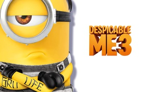 Картинка tatoo, animated film, minion, animated movie, Despicable Me 3, Minion Despicable Me