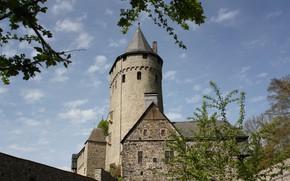 Картинка Город, Германия, Altena Castle