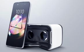 Картинка smartphone, tecnology, Alcatel, Virtual reality glasses