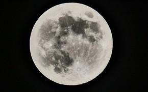Картинка space, moon, sky