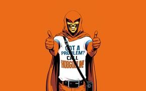 Обои Marvel, comics, злодей, spider-man, комикс, арт, Hobgoblin, наемник, Хобгоблин