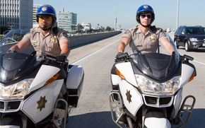 Картинка USA, California, America, uniform, Michael Peña, Highway Patrol, California Highway Patrol, CHiPs, Dax Shepard