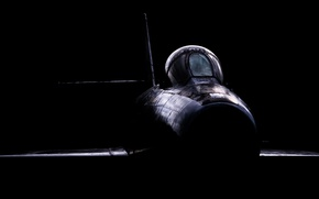 Картинка фон, самолёт, Dassault Mystere, Newark Air Museum