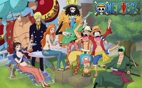 Картинка music, game, Chopper, One Piece, pirate, anime, Robin, asian, Frank, manga, japanese, oriental, asiatic, Nami, …