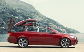 Картинка купе, Volvo, кабриолет, C70