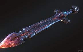 Обои пуха, Sword_concept, Safwen Laabidi, арт, меч, фэнтези, игра