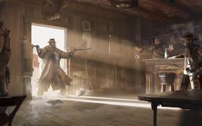 Картинка bar, men, The Gunslinger