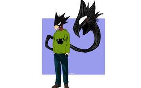 Картинка аниме, арт, парень, Boku no Hero Academia, Моя геройская академия