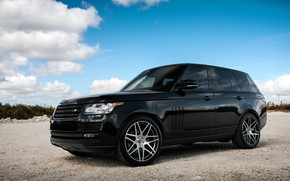 Картинка Range Rover, with, color, body, HSE, trim, matched