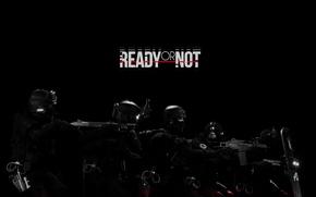 Картинка gun, pistol, game, weapon, police, man, shotgun, shield, revolver, helmet, uniform, seifuku, Heckler & Koch, …