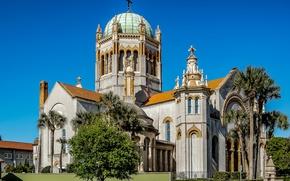 Картинка церковь, США, Florida, St. Augustine, Memorial Presbyterian Church