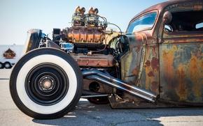 Обои hot-rod, classic car, классика, ретро