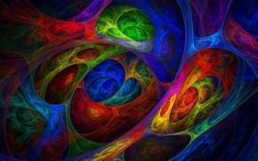 Картинка узор, цвет, радуга