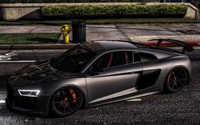 Картинка Audi R8, GTA, Grand Theft Auto V