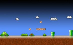 Картинка игра, Марио, ностальгия, Super Mario