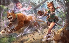 Картинка girl, game, Nintendo, animal, asian, bishojo, japonese, Fire Emblem