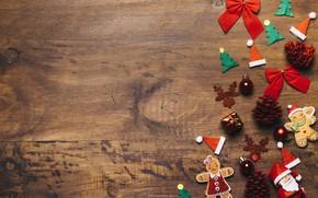 Картинка праздник, игрушки, новый год, шишки