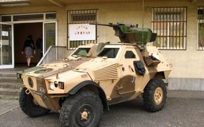 Картинка military, weapon, armored, machine gun, war material, armored vehicle