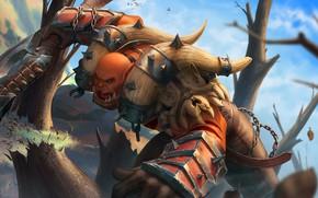 Картинка World of Warcraft, warcraft, wow, art, hots, garrosh hellscream